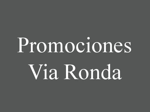 Promociones Via Ronda