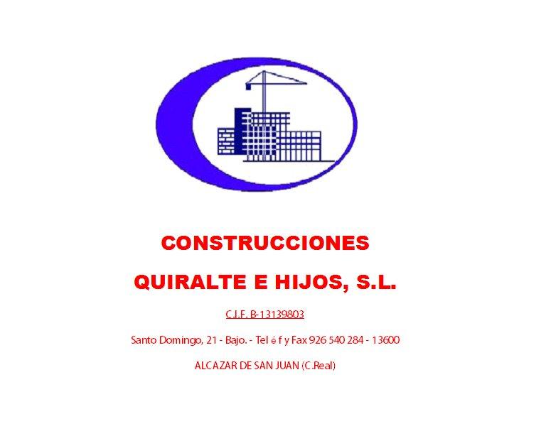Construcciones Quiralte E Hijos S.l.