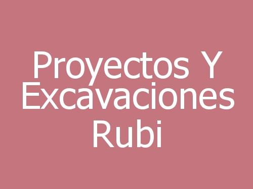 Proyectos Y Excavaciones Rubi