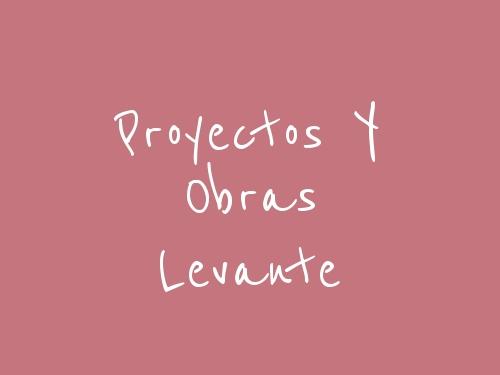 Proyectos Y Obras Levante