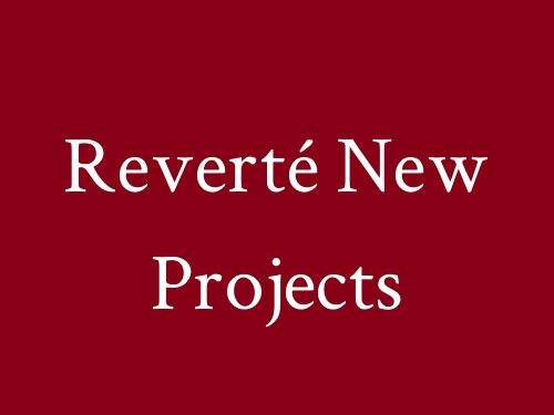 Reverté New Projects