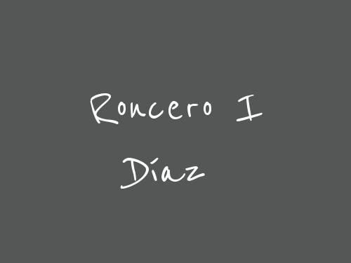 Roncero I Díaz