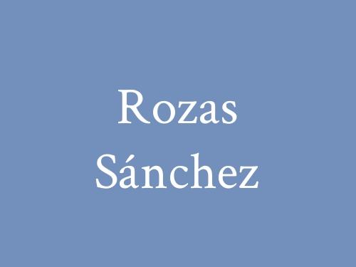 Rozas Sánchez