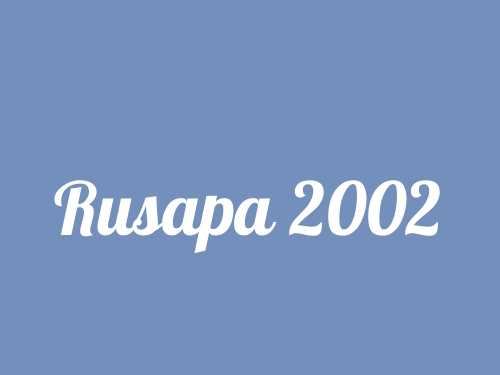 Rusapa 2002