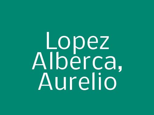 Lopez Alberca, Aurelio