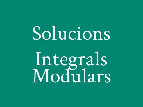 Solucions Integrals Modulars