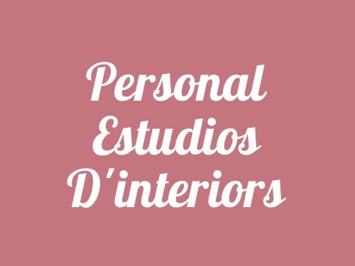 Personal Estudios d'interiors