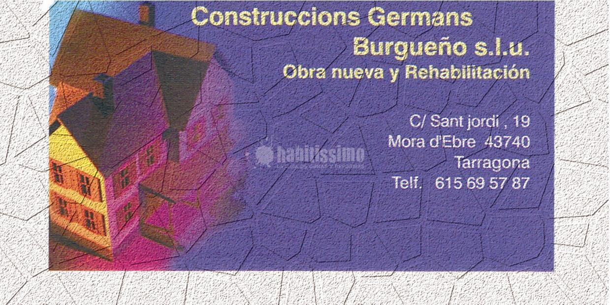 Construccions Germans Burgueño s.l.u.