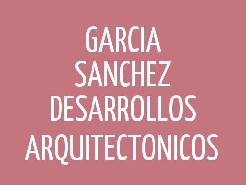 García Sánchez Desarrollos Arquitectónicos