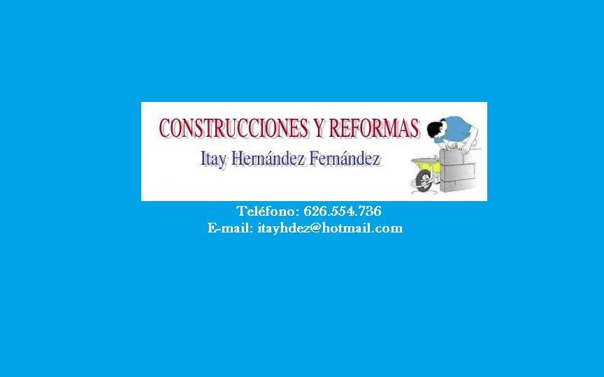 Construcciones y Reformas Itay Hernández