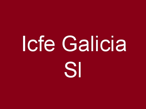 ICFE Galicia S.L.