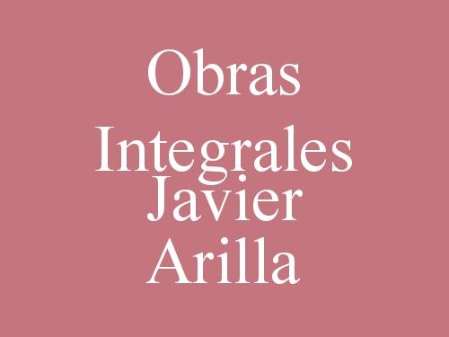 Obras Integrales Javier Arilla