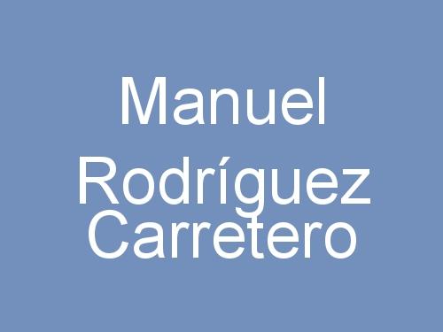 Manuel Rodríguez Carretero
