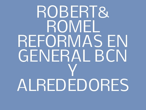 Robert & Romel Reformas En General