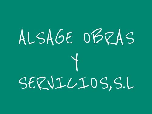 ALSAGE OBRAS Y SERVICIOS,S.L