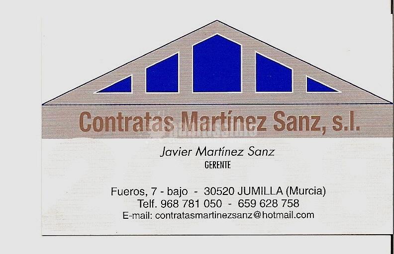 Contratas Martínez Sanz 2008, S.L.