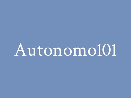 Autonomo 101