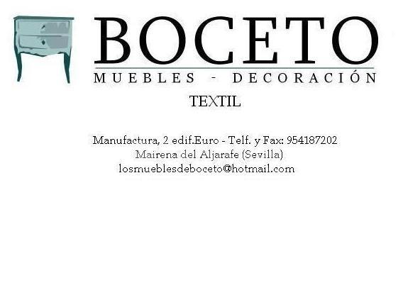 Boceto Muebles y Textil