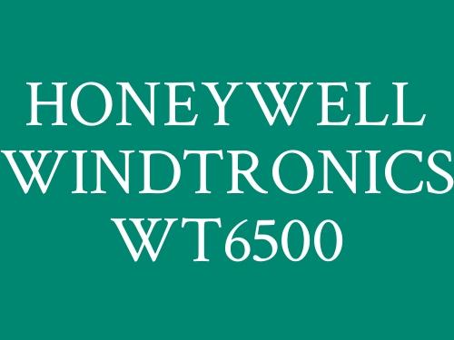 HONEYWELL WINDTRONICS WT6500