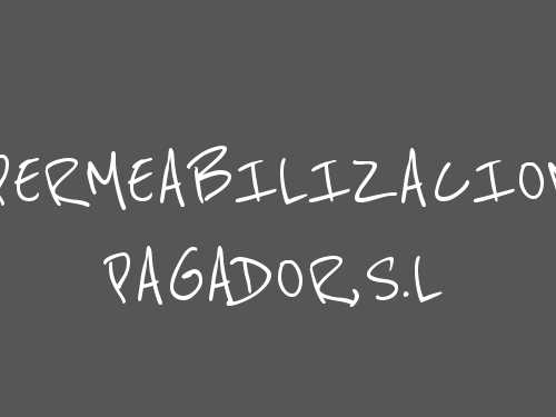 Impermeabilizaciones Pagador, S.L.