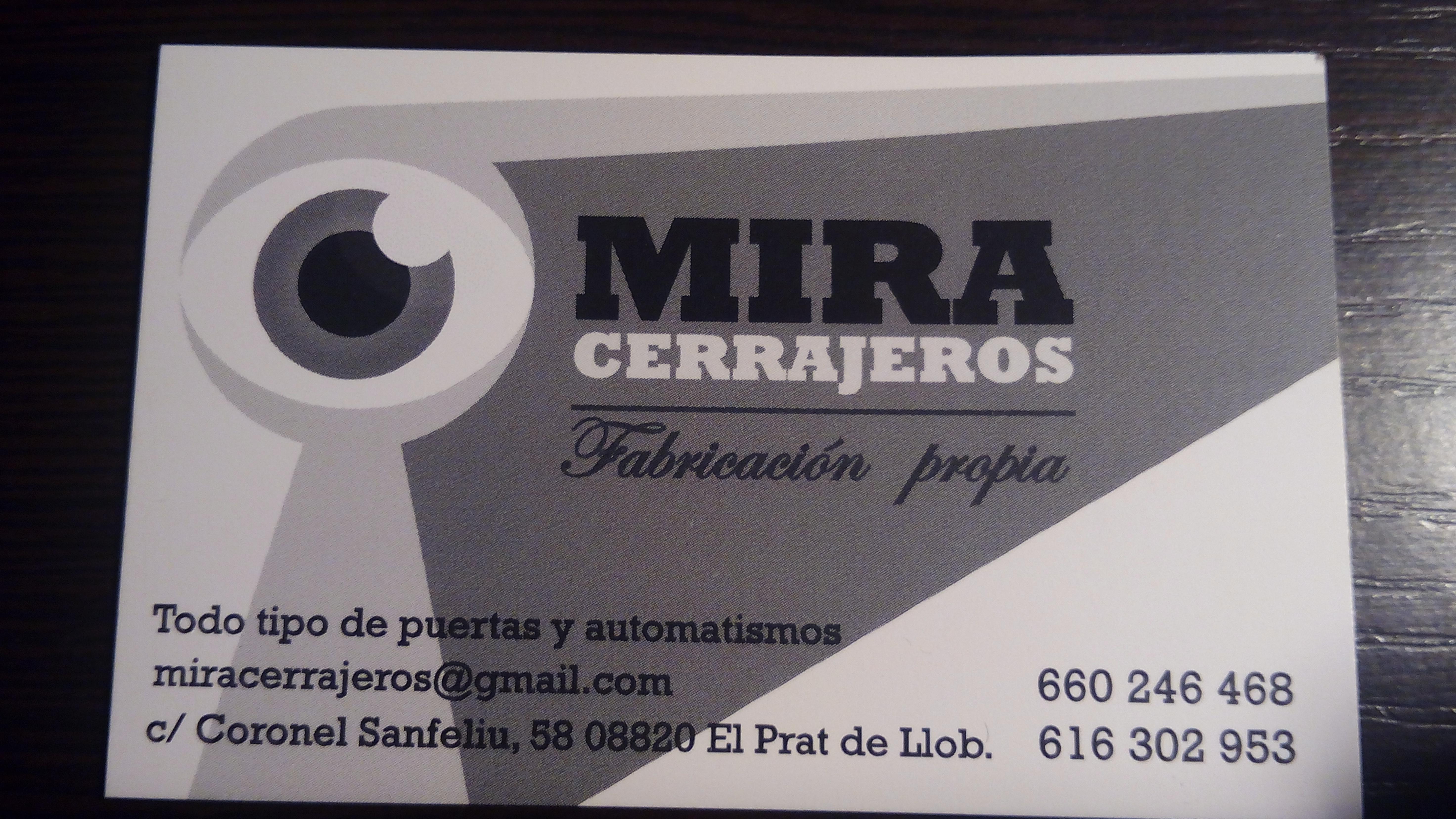 Mira Cerrajeros Scp (Raimundo Soriano)