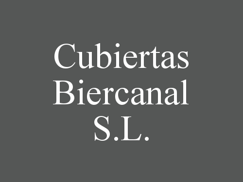 Cubiertas Biercanal S.L.