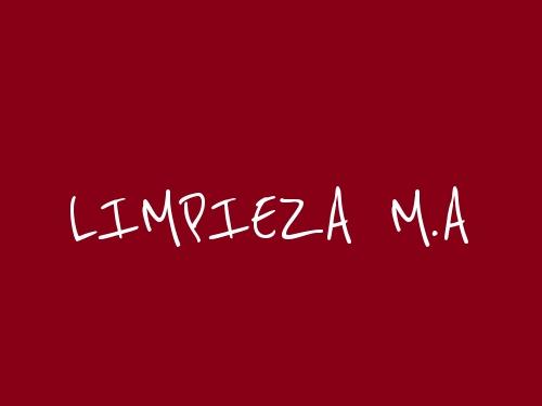 Limpieza M.A.