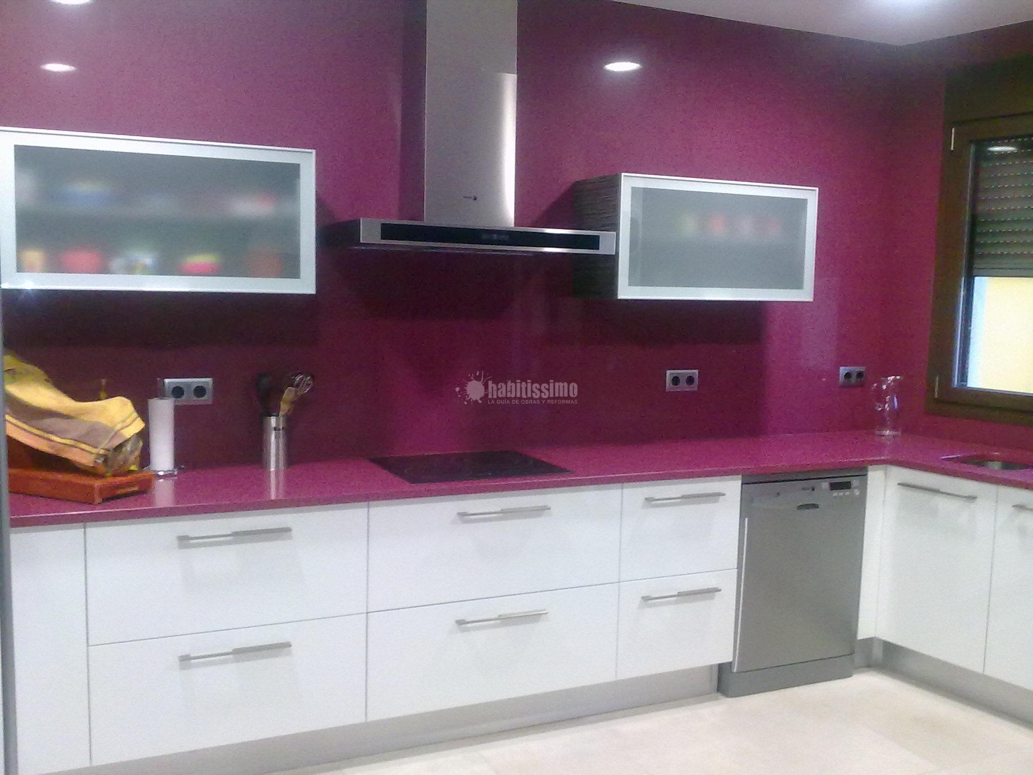 Revestimiento de pared de cocina y fogon de gas google - Revestimientos para paredes de cocina ...