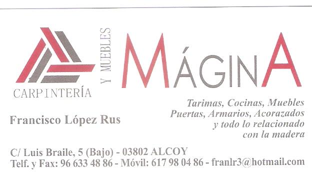 Carpintería y Muebles Mágina