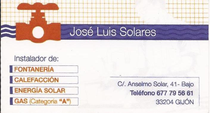 Fontaneria jose luis solares