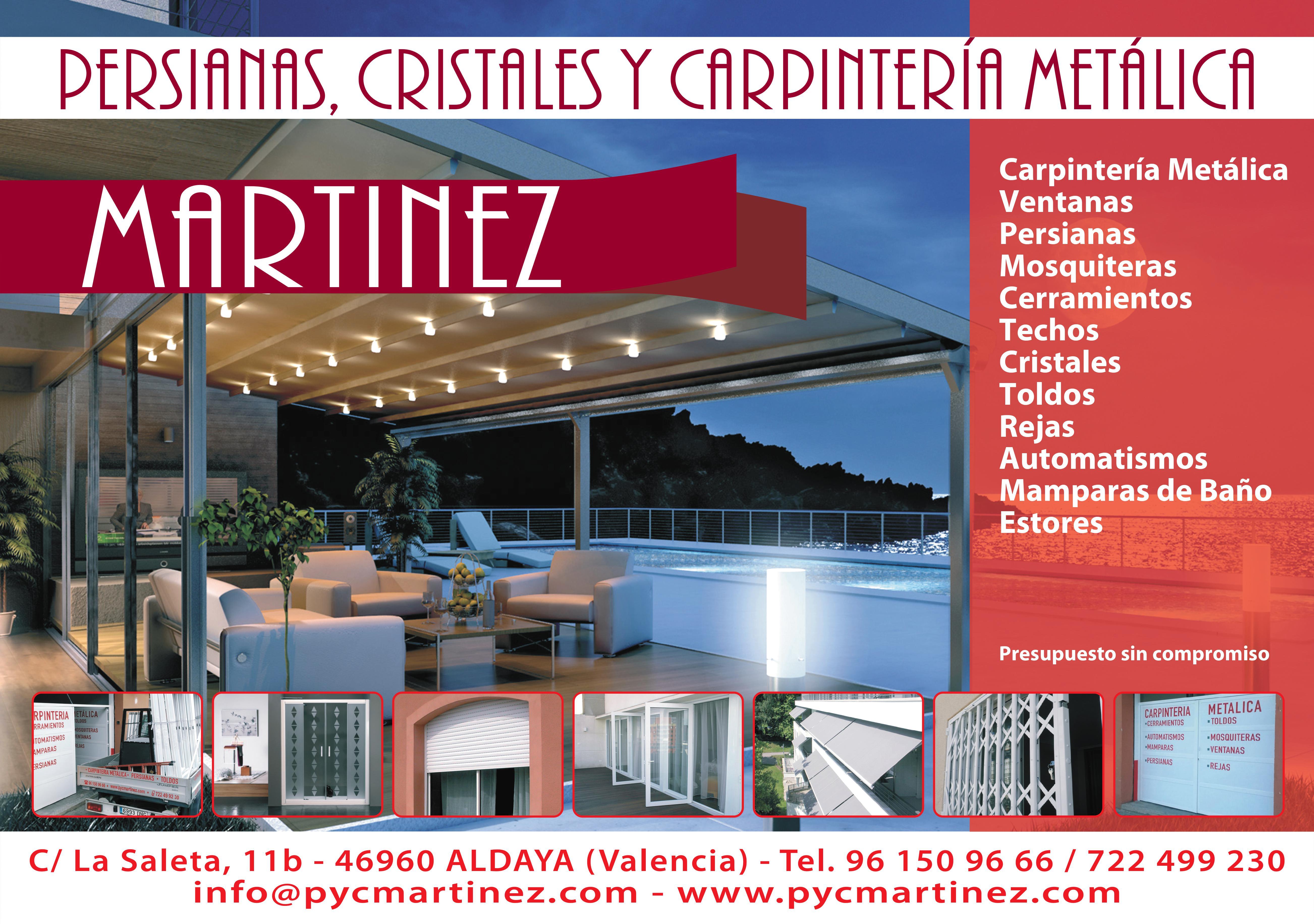 Persianas Y Cristales Martinez, S.L.