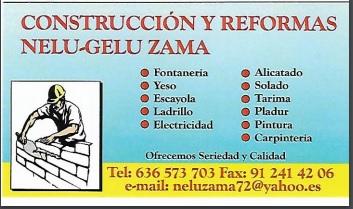 Construcciones Y Reformas Nelu Zama