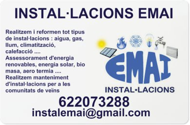 Instal·lacions Emai
