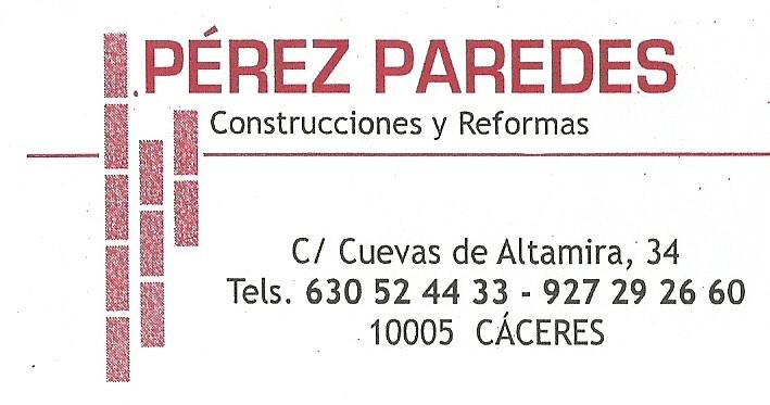 Construcciones Y Reformas Pérez Paredes