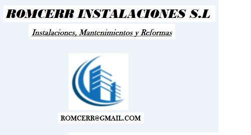 Romcerr Instalaciones SL
