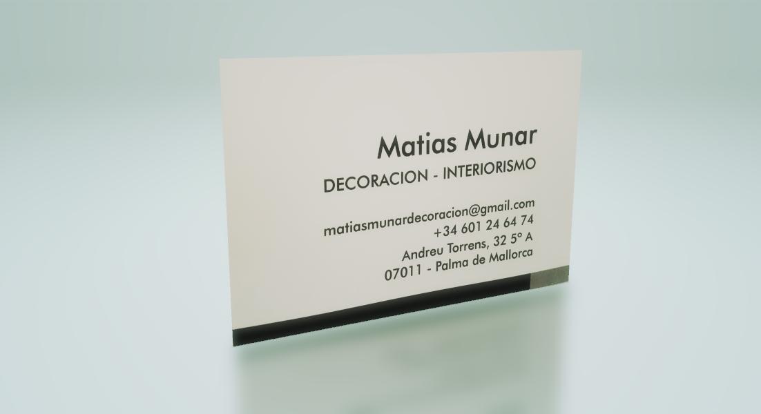 Matias Munar Decoración
