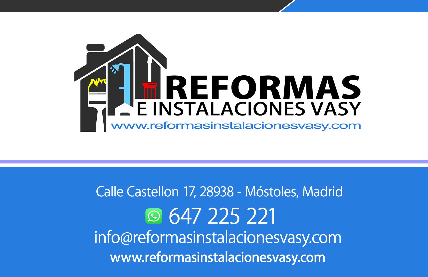 reformas instalaciones vasy