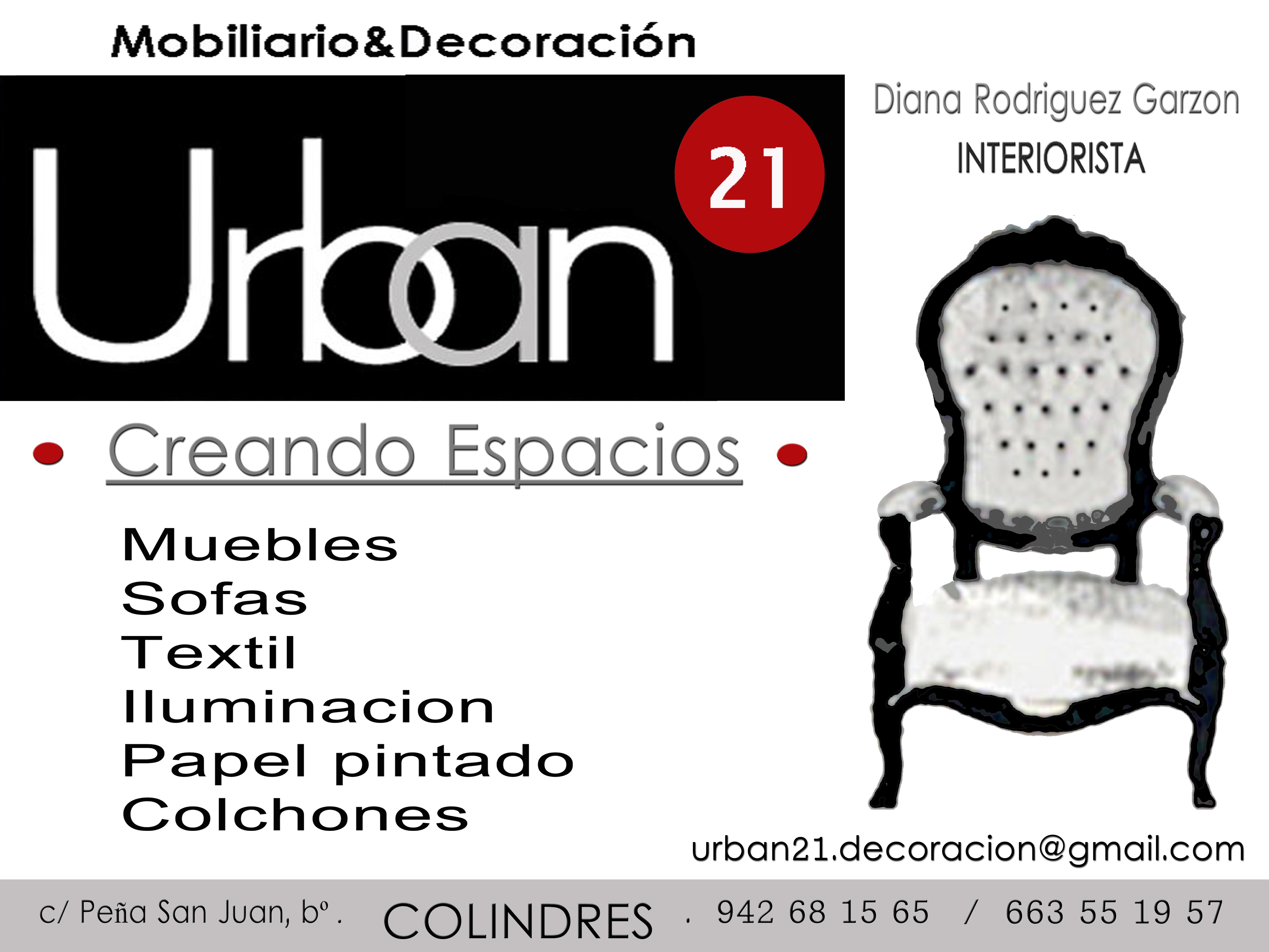 Urban 21 Mobiiliario y Decoración