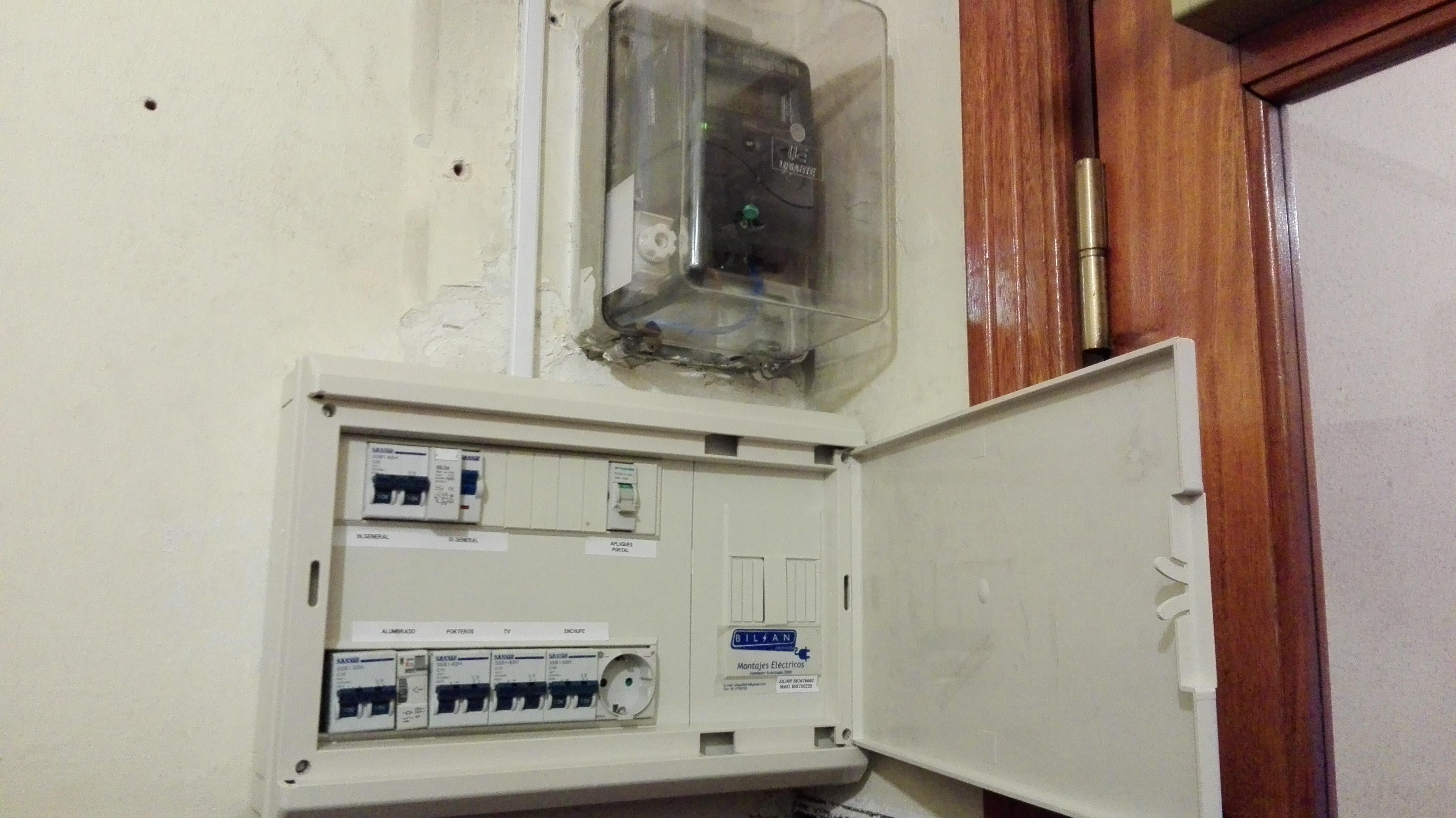 Fotograf as bilsan montajes electricos s c - Electricistas en bilbao ...