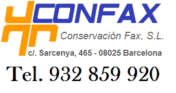 Conservacion fax sl