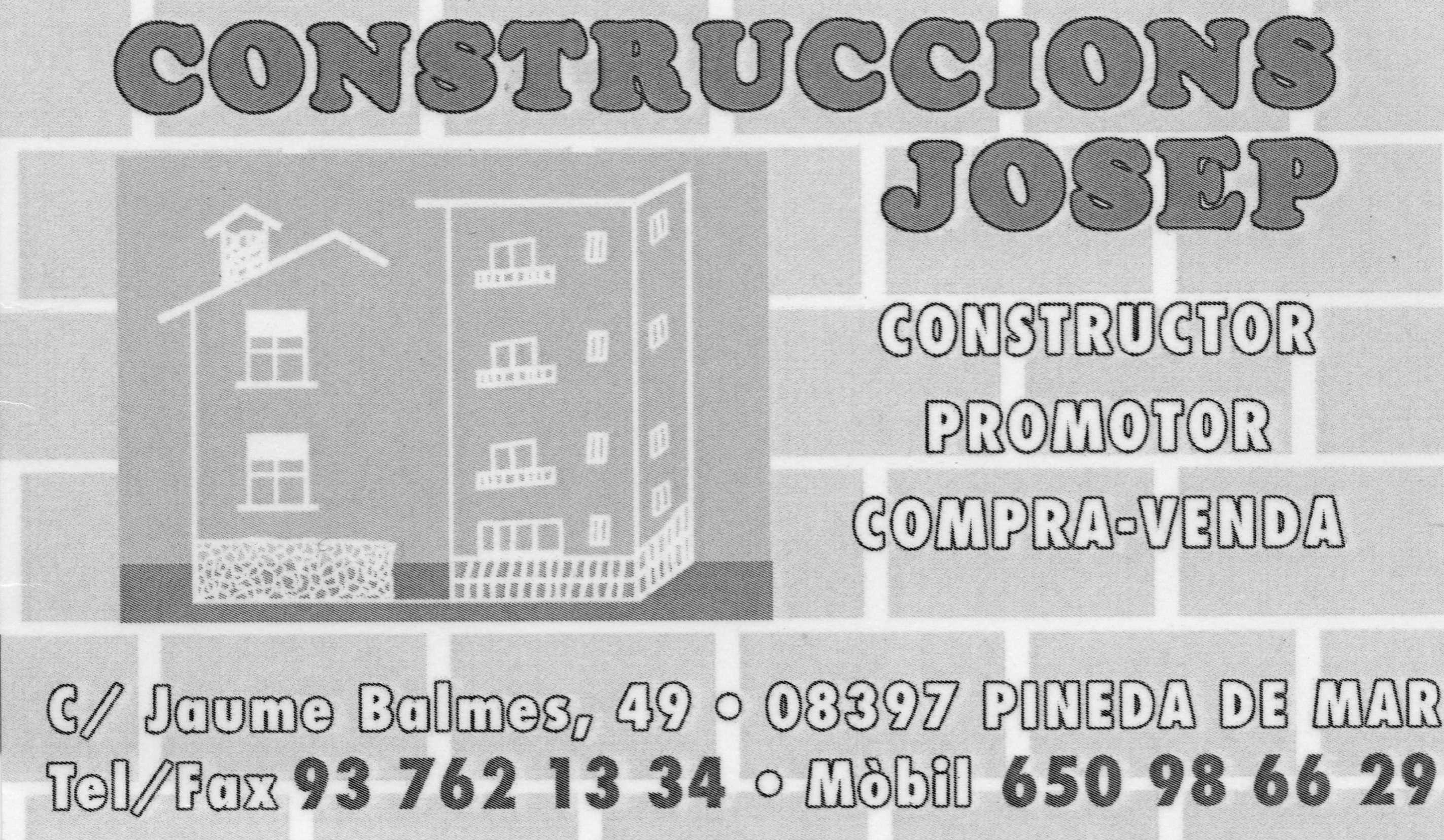 Construccions I Redormes Josep