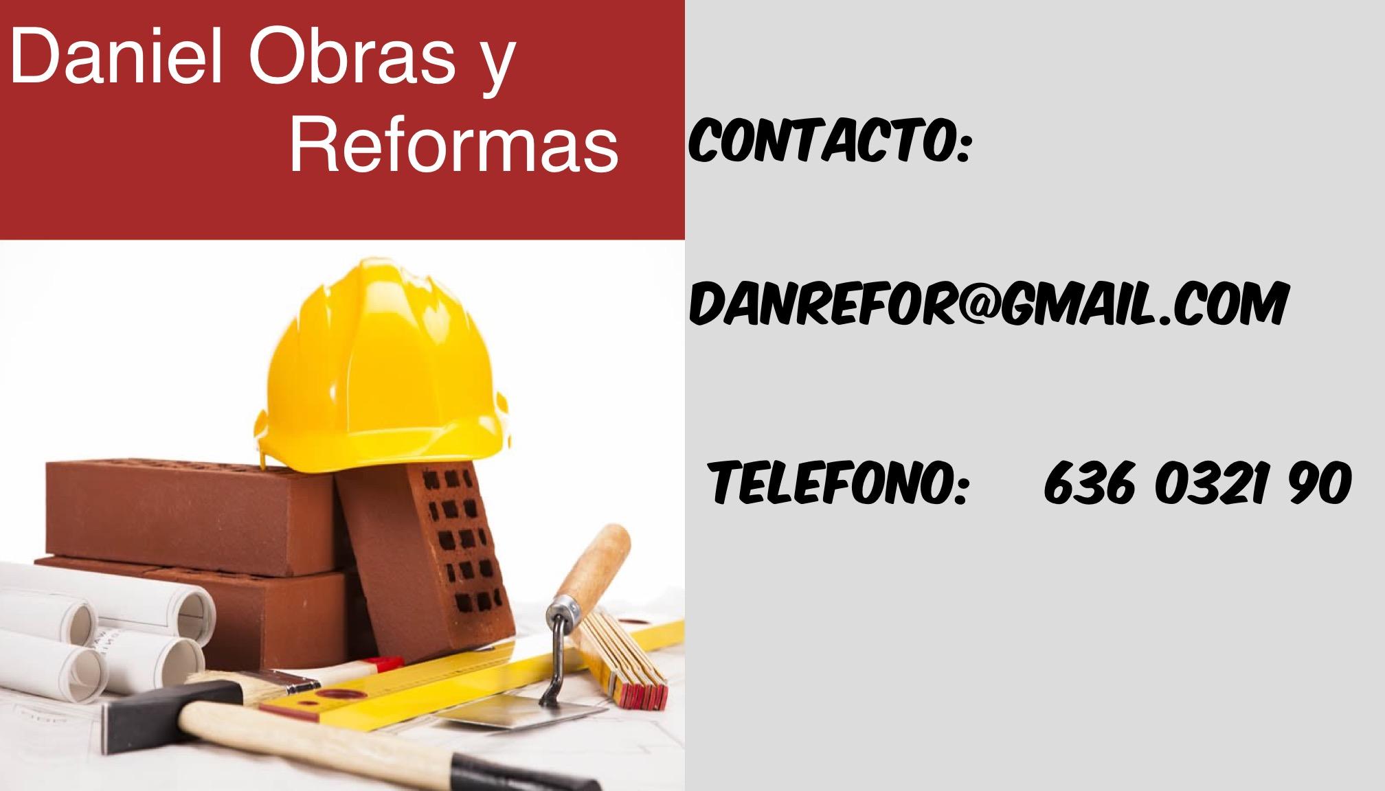 Daniel Obras y Reformas