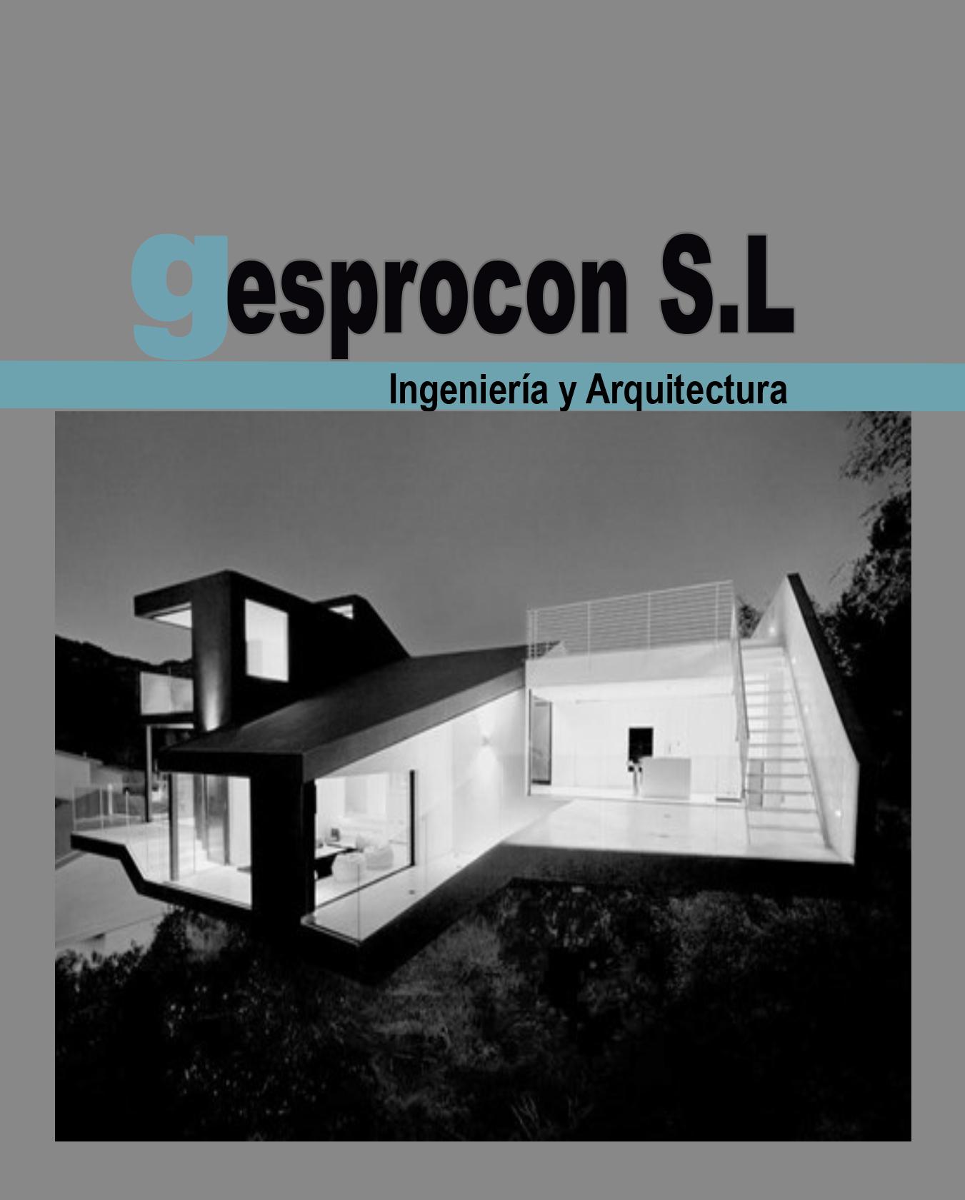 Gesprocón_ingeniería Y Arquitectura