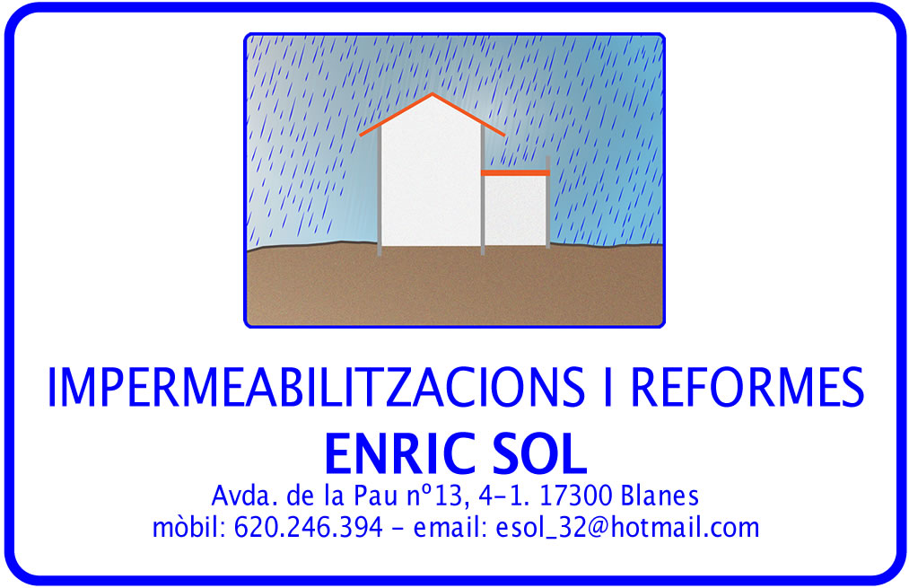 Impermeabilizaciones Y Reformas Enric Sol