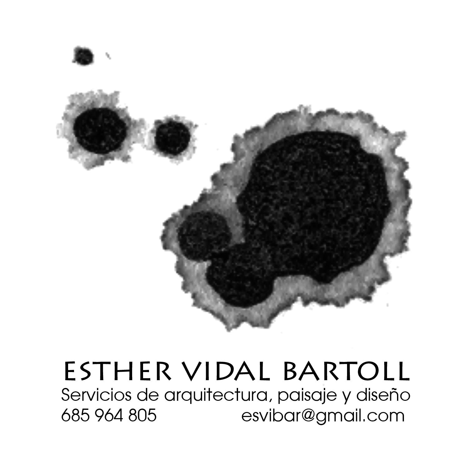 Esther vidal bartoll servicios de arquitectura, paisaje y diseño