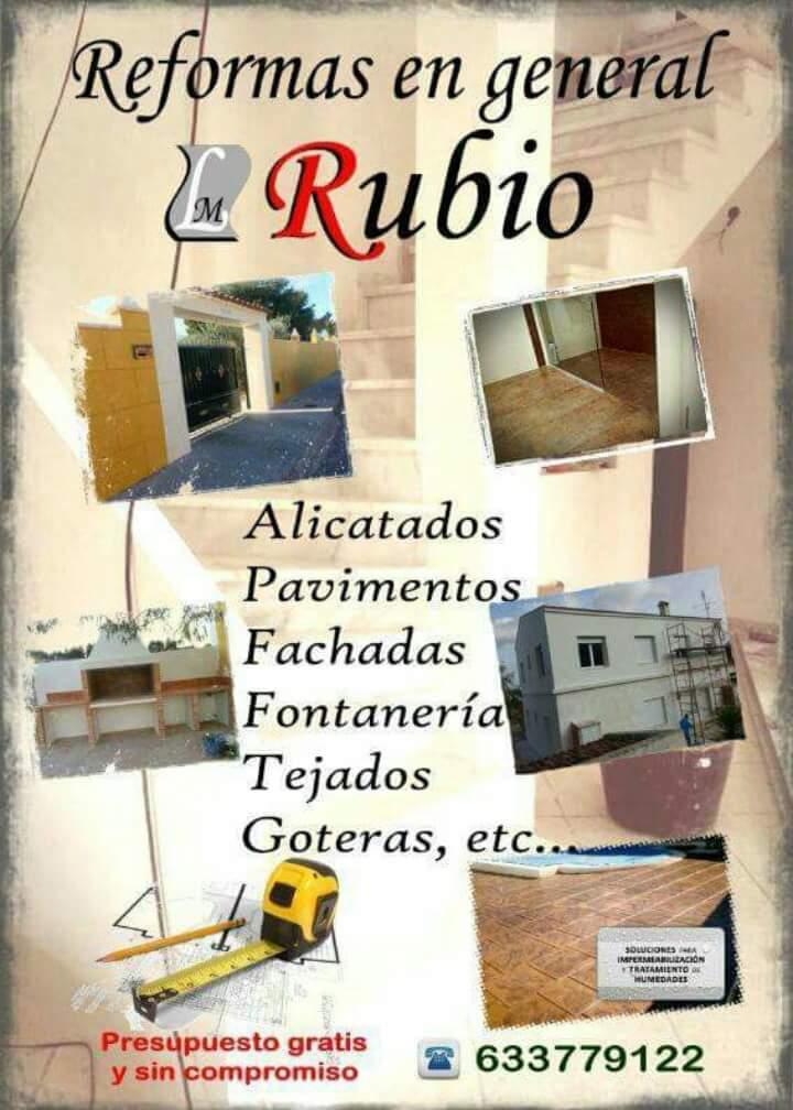 Reformas En General L,m Rubio