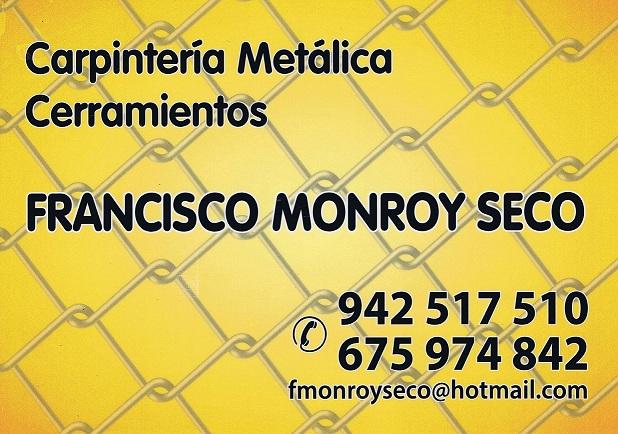 Carpinteria Metalica Y Cerramientos Monroy
