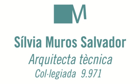 Arquitecto Técnico. Silvia Muros