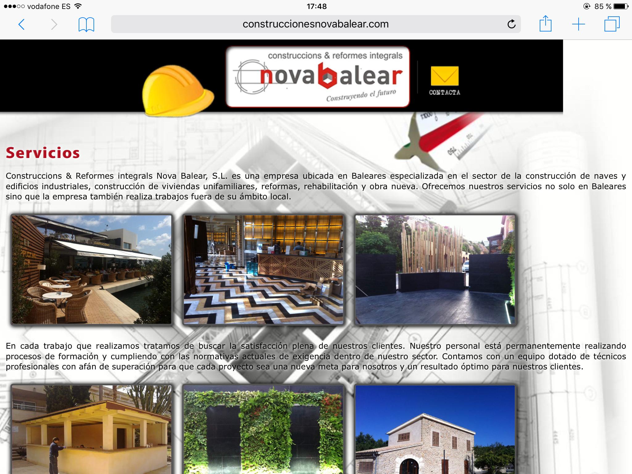 Construccións & reformes Integrals Nova Balears S.l