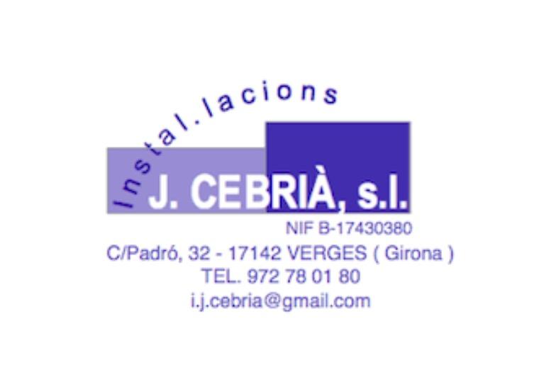 Instal.lacions J. Cebrià S.l.